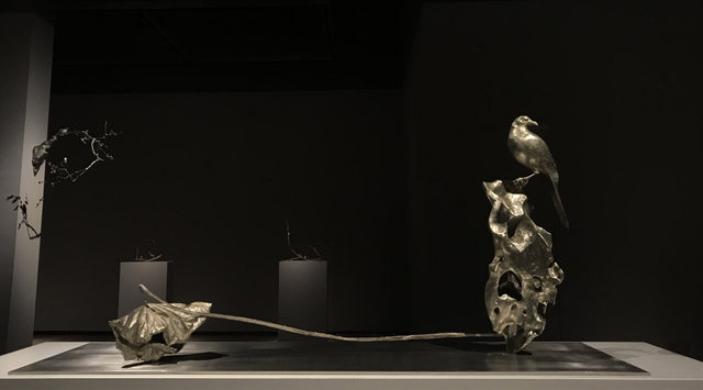Cai Zhisong 蔡志松, 'Lotus No. 2  荷·2#', 2019, Sculpture, White Copper and Stainless Steel, Linda Gallery