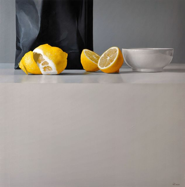 Fernando O'Connor, 'Lemons and Bowl', Painting, Oil on canvas, Plus One Gallery