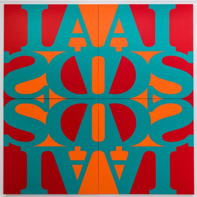 General Idea, 'Great AIDS (Phthalo Turquoise Green)', 1990/2018, Mai 36 Galerie