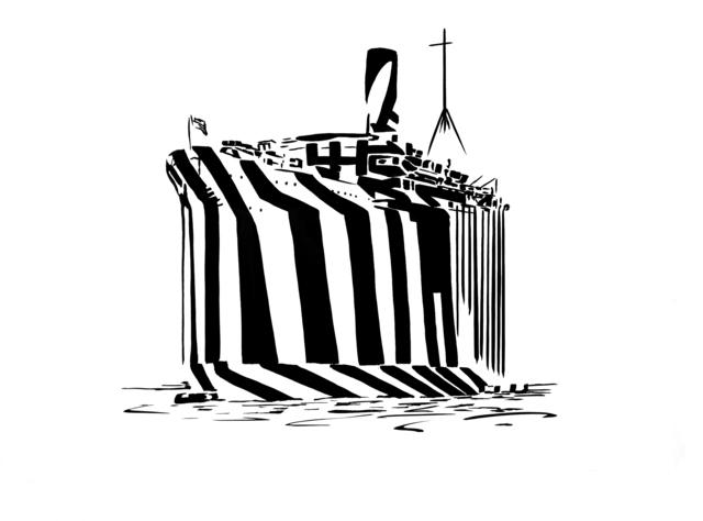 , 'Ghost Ship,' 2019, Dellasposa