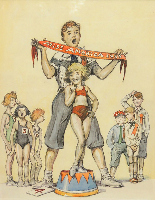 Monte Crews, 'Miss America 1939', 1939, The Illustrated Gallery