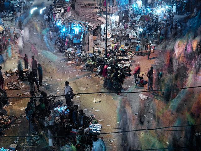 , 'Center Point, Lagos,' 2016, Galerie Ron Mandos