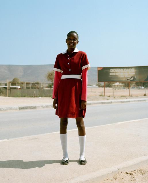 Francois Visser, 'Girl in Street, Namibia', 2015, Photography, Archival pigment print (unframed), THK Gallery