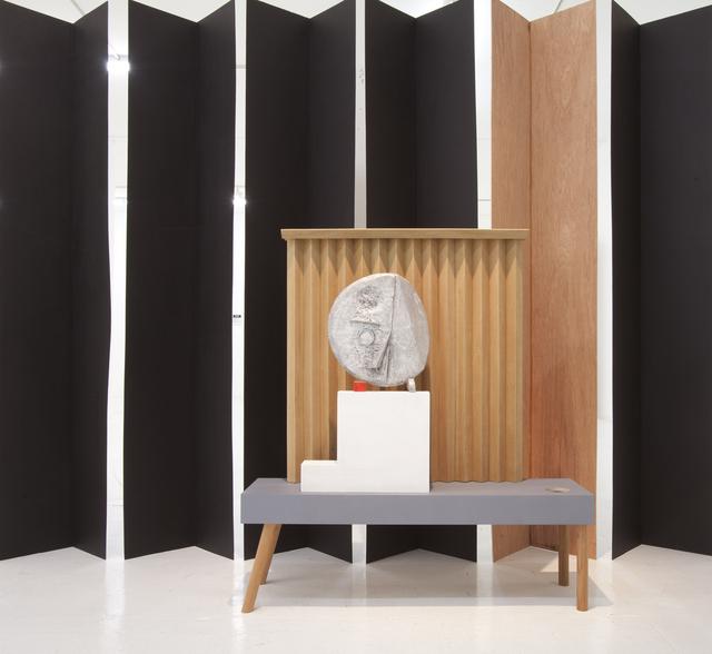 , 'Grave Digger #1 (Mask & curtain),' 2012, Nina Johnson