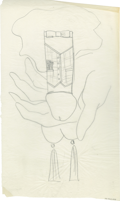 , 'n.t. (Dick Dressed in a Vest),' ca. 1956, Daniel Blau