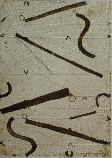Caio Fonseca, 'Seven String Etching no. 10', 2001, ARC Fine Art LLC