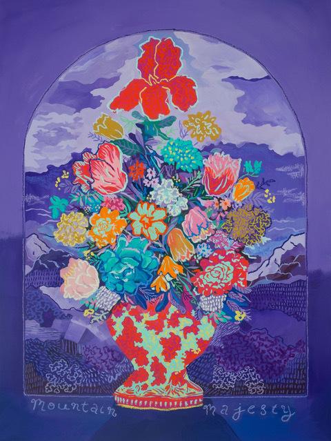 , 'Mountain Majesty,' 2019, Rebecca Hossack Art Gallery