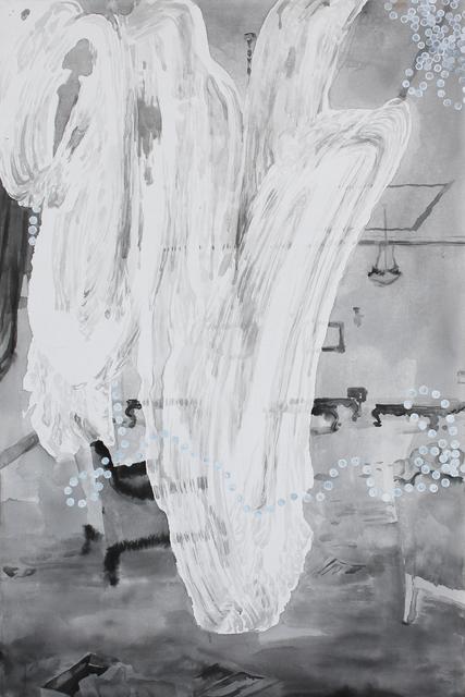 , 'Übermalen,' 2011, Migrant Bird Space