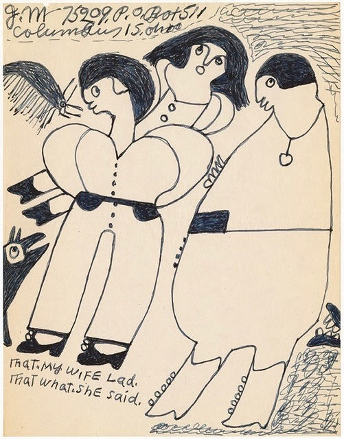 ", '""That my wife lad,"" ,' n.d, Ricco/Maresca Gallery"