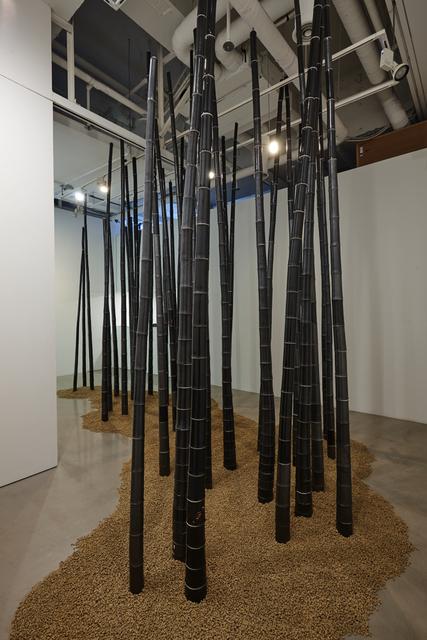 , 'TAO(bamboo),' 2016, Park Ryu Sook Gallery