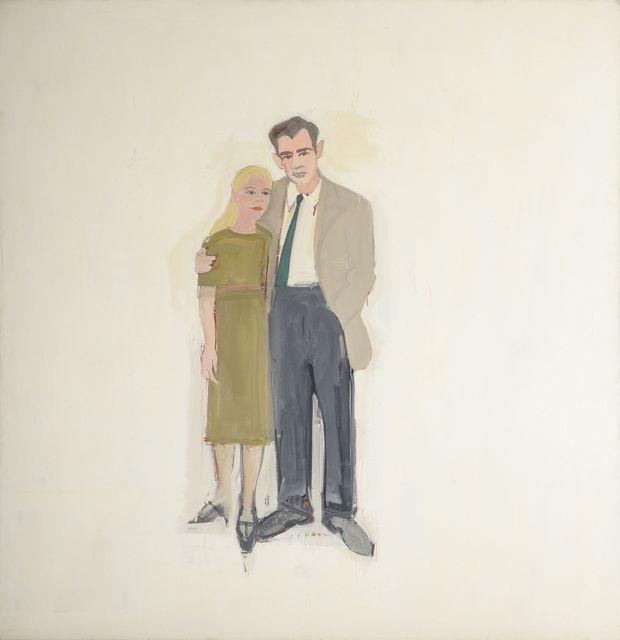 , 'Irving and Lucy,' 1958, Colby College Museum of Art