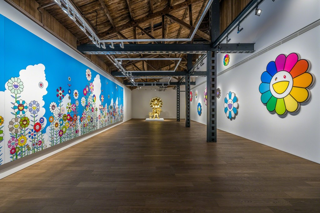 """Takashi Murakami in Wonderland"", Perrotin Shanghai exhibition views. All artwork © Takashi Murakami/Kaikai Kiki Co., Ltd. All Rights Reserved. Courtesy Perrotin. Photo: Yan Tao"