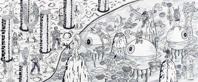 Motohiro Hayakawa, 'Battle Large 3', 2019, Coleccion SOLO