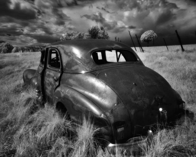 , 'Truchas Car #2,' , Modernist Frontier