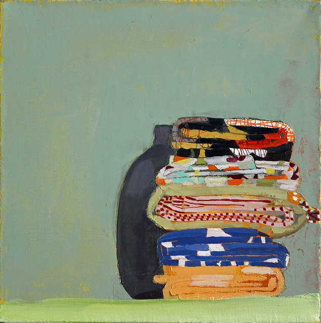 , 'Still Life with Fat Quarters and Vase,' 2014, Kathryn Markel Fine Arts
