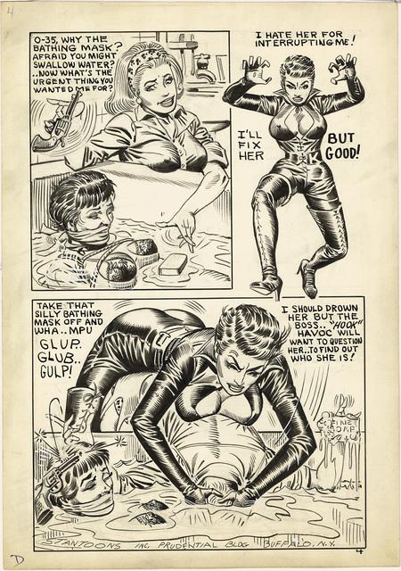 , 'On a Kinky Hook, Page 4, 1966,' 1966, TASCHEN