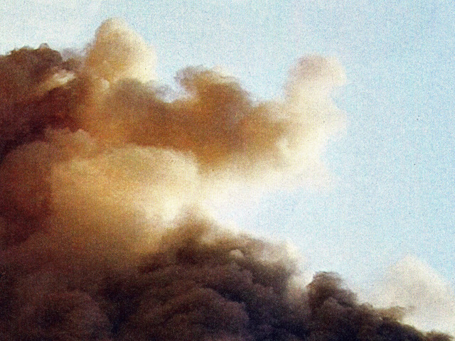 , 'Cloud No.1: 7 March, 2011, Ra's Lanuf, Libya,' 2012, Blain | Southern