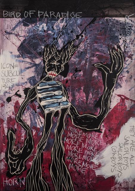 , 'Bird Of Paradise | The Freedom paintings #06,' 2018, heliumcowboy