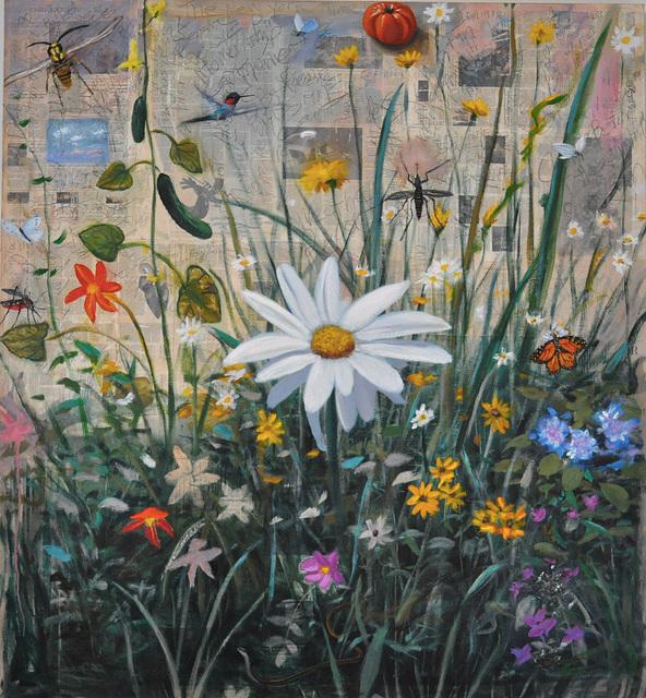 , 'Old News; In the Garden,' 2017, Grenning Gallery