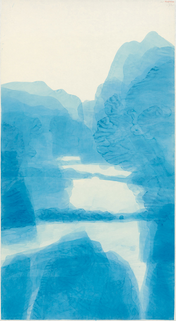 , 'Blue Mountain 1028,' 2015-2016, Galerie du Monde