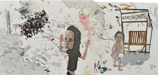 , '#somostrabajadores,' 2019, Isabel Croxatto Galería