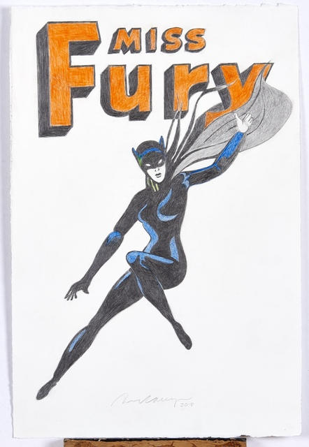 , 'Miss Fury,' 2018, LEVY Galerie
