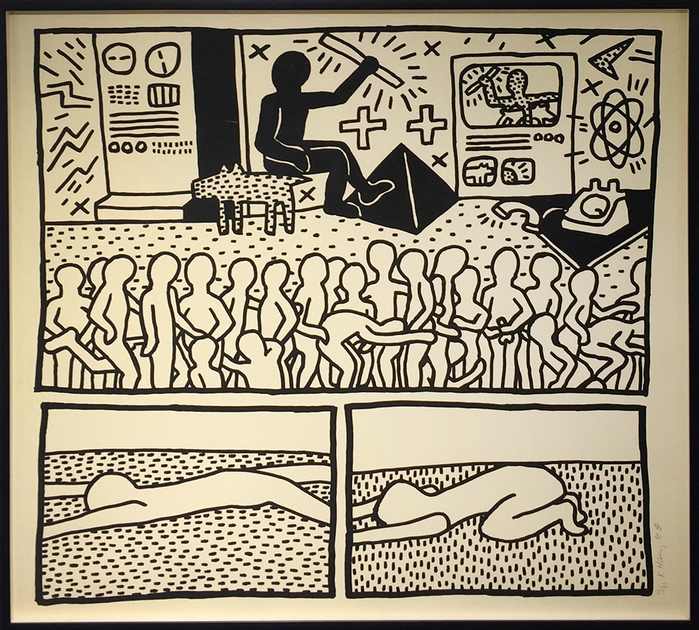 Keith haring the blueprint drawings 15 1990 artsy keith haring the blueprint drawings 15 1990 rago malvernweather Images