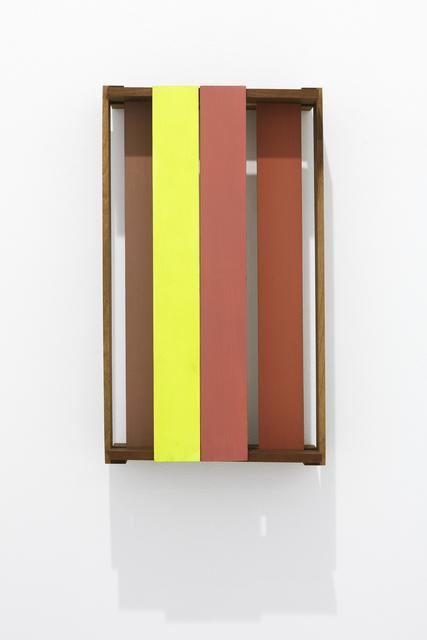 , 'Fundo (Amarelo e Terra),' 2015, Lange + Pult