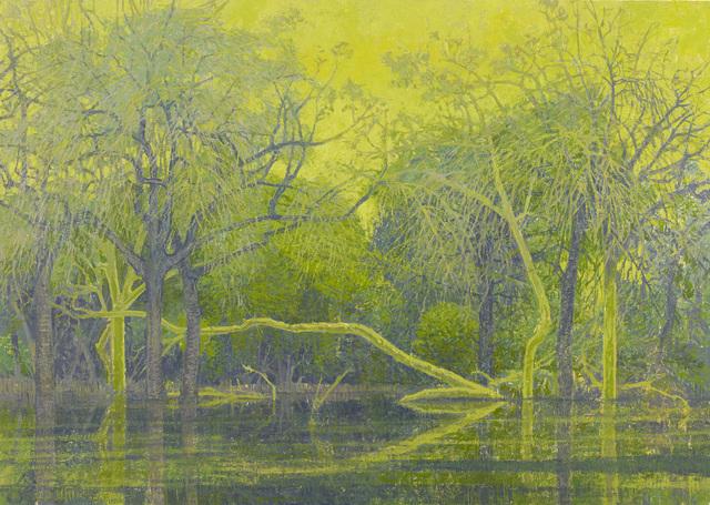 , 'Fever Tree Pool,' 2017, John Martin Gallery