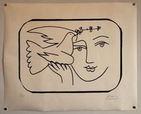 Pablo Picasso, Boy with Dove Limited Edition Screen Print or Lithograph