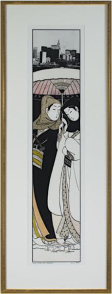 , 'Lovers After Harunobu (Japanese Suite),' 1978, David Barnett Gallery