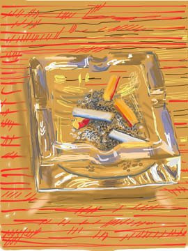 , 'Ashtray,' 2010, Annely Juda Fine Art