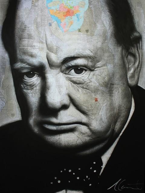 , 'Churchill,' 2018, Galerie de Bellefeuille