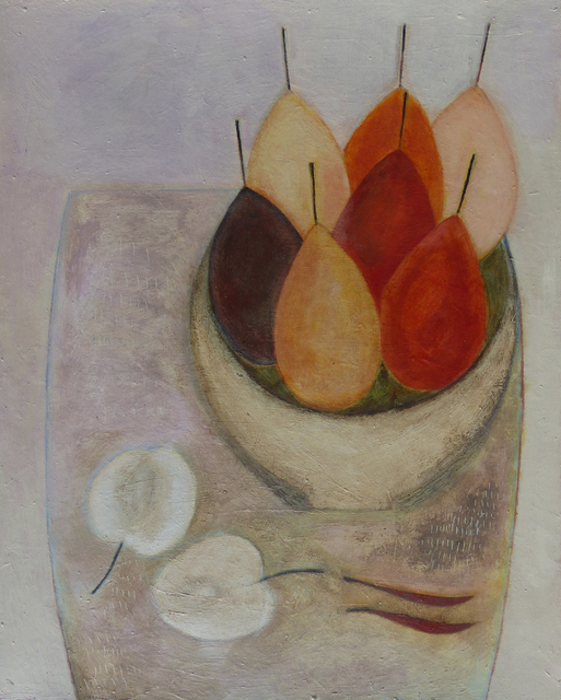 , 'Pears, Apples & Chillies,' 2018, Thackeray Gallery