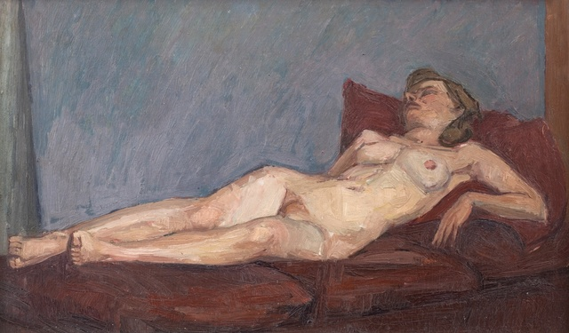 , 'Reclining Nude,' 1949-1950, Piano Nobile