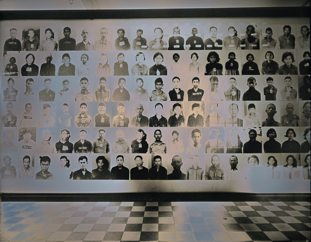 , 'Lambency of Tuol Sleng Genocide Museum #3,' 2017, Lisa Sette Gallery