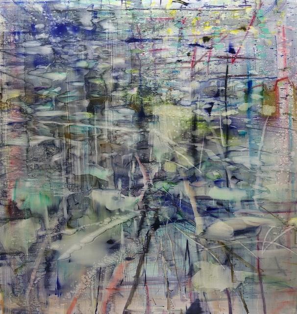 , 'Lac de Vallon,' 2018, Galerie Andreas Binder