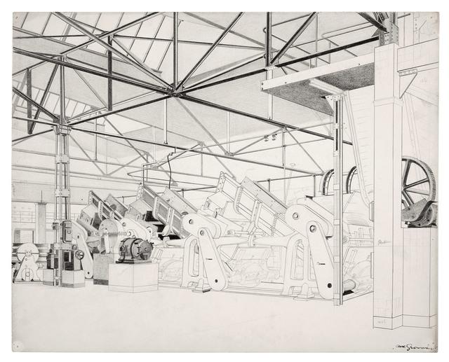 , 'Maschinenhalle (Sortierschütte),' ca. 1933, Galerie Michael Hasenclever KG