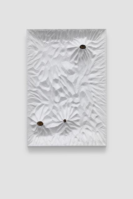 , 'Untitled (White Woodboard 2019 No.2),' 2016, Beijing Commune