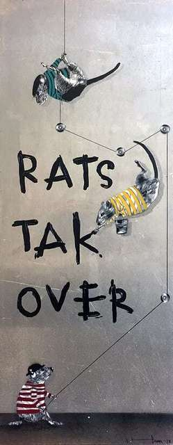 , 'Rats take over,' 2018, NextStreet Gallery