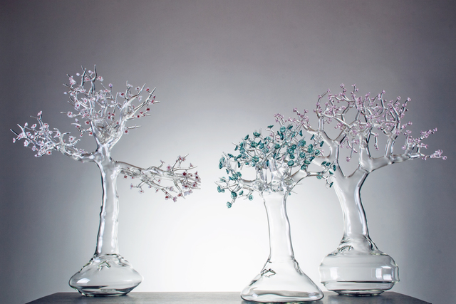 , 'Blossom Glass Bonsai,' 2014, Bernd Goeckler Antiques
