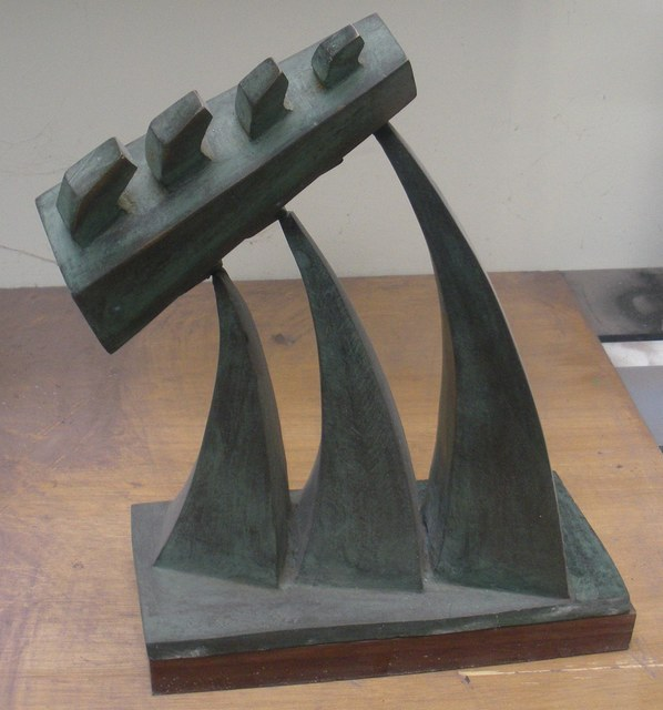 , 'Pour Maquette,' 1994, International Sculpture Center