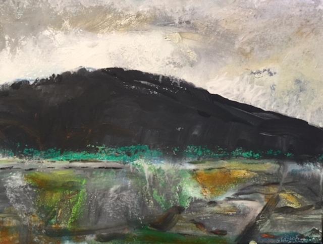 , 'Black Mountain,' 2017, White Court Art