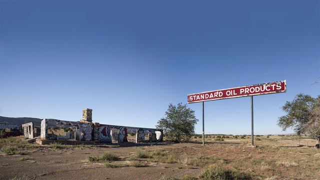 ", '""Standard Oil,"" Cow Springs, Arizona,' 2018, Front Room Gallery"