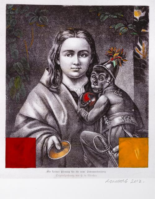 Osvaldo Romberg, 'Man & Monkey ', 2012, InLiquid