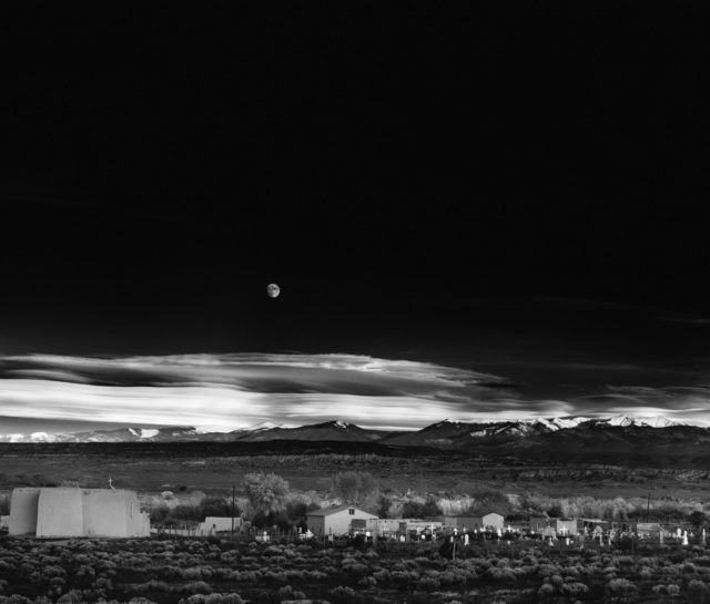 , 'Moonrise, Hernandez, New Mexico,' 1941, Peter Fetterman Gallery
