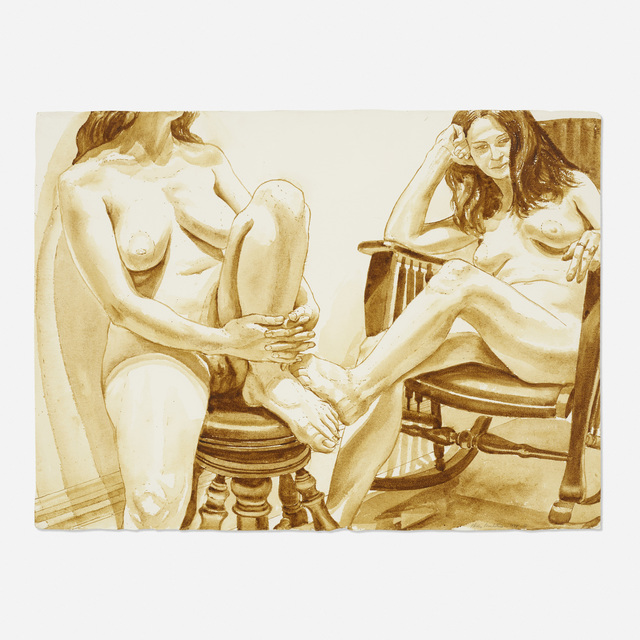 Philip Pearlstein, 'Untitled', 1974, Wright