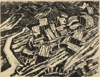 Ladle Slag, Old Hill, I (Colnaghi 146; Greenwood W/C 5)