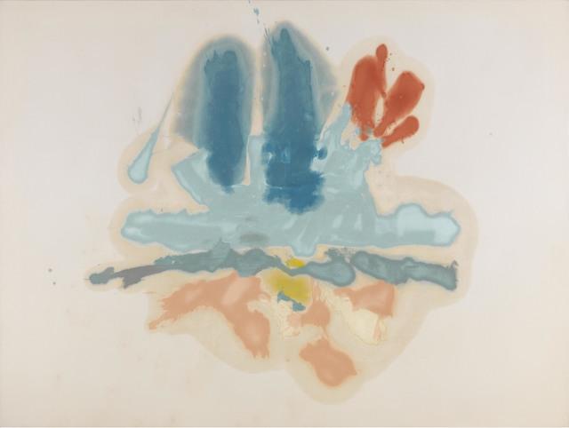 , 'Hommage à M. L.,' 1962, Helen Frankenthaler Foundation