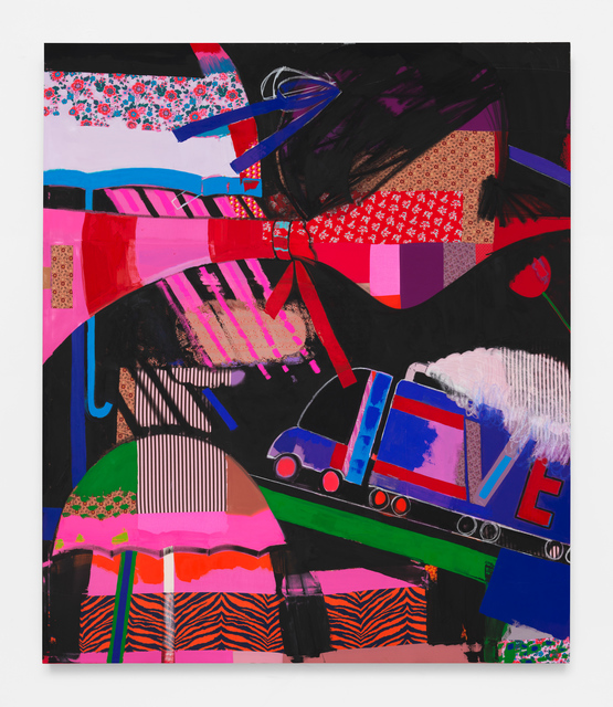 , 'Chantilly Rouge,' 2018, Anton Kern Gallery
